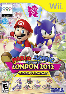NEW MARIO & AND SONIC AT THE LONDON 2012 OLYMPIC GAMES Wii, 2011 NINTENDO