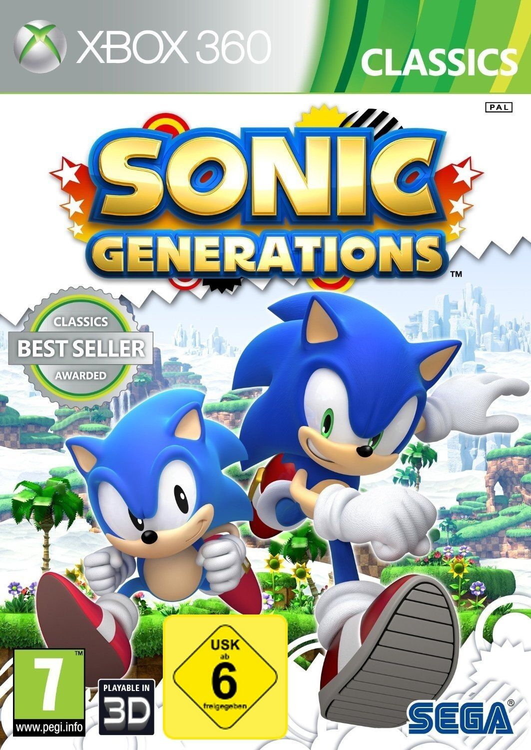 Sonic Generations Game Xbox 360 [Uk-import] 16