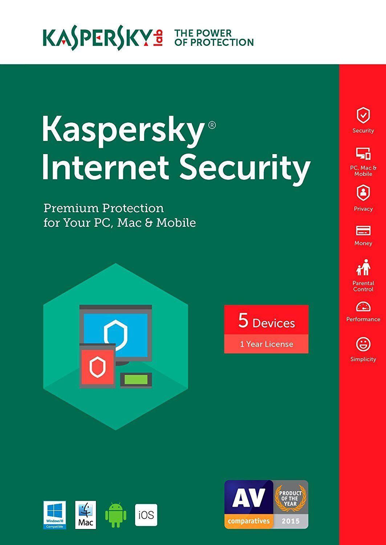 Kaspersky Lab Internet Security Multi-device 2017 5 Devic...
