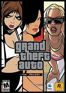 Grand theft auto Trilogy Vice City San Andreas (MAC only) NEW & SEALED