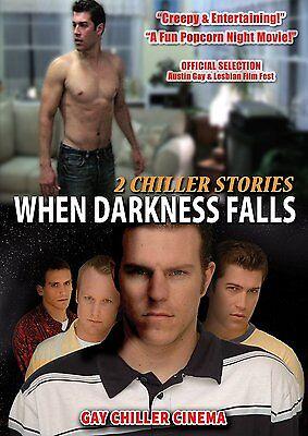 When Darkness Falls: 2 Chiller Stories (DVD), Thriller, LGBT, Gay Suspense](Comedy Halloween Movies 2017)