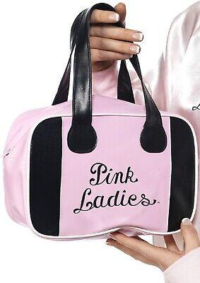 Pink Damen Fett Film Hen Handtasche Kostüm Verkleidung Zubehör