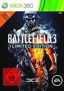 Battlefield 3 - Limited Edition (USK: 18!, Microsoft Xbox 360, 2011)