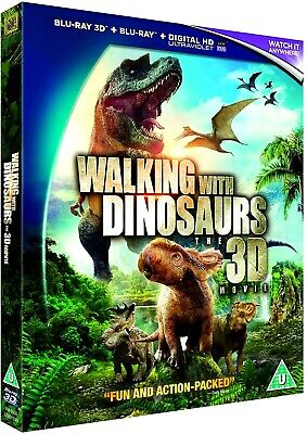 Walking With Dinosaurs: The 3D Movie (Blu-ray 3D+UV-2014,1-Disc)Neil Nightingale