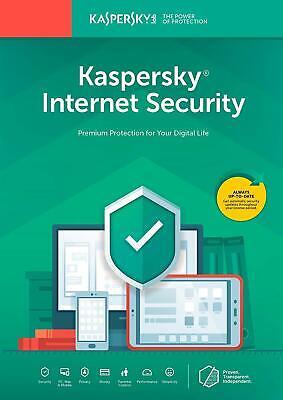 Kaspersky Internet Security 2020 3 Device PC / 2 years US Version Download segunda mano  Embacar hacia Argentina