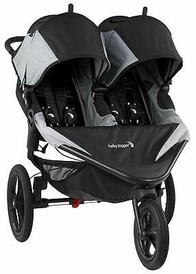Baby Jogger Summit X3 Twin Double All Terrain Jogging Stroller Black / covid 19 (Terrain Jogging Stroller coronavirus)