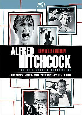 Alfred Hitchcock: The Essentials Collection (Blu-ray Disc 5-Disc Set) Limited (Alfred Hitchcock The Essentials Collection Limited Edition)