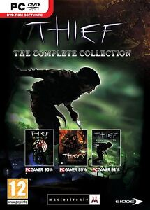 Thief The Complete Collection (Gold, II 2 Metal Age & III 3 Deadly Shadows) PC