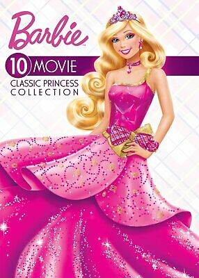 Barbie 10-movie Classic Princess Collection DVD NEW FREE SHIPPING