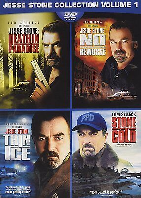 Jesse Stone 4 Movie Collection New  Free Shipping
