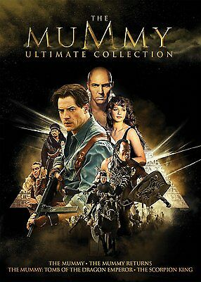 The Mummy Ultimate Collection   Dvd  2017  5 Disc Set  Contains All 4 Movies New