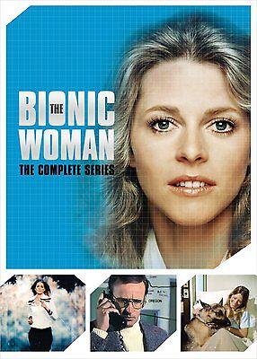 The Bionic Woman:Complete Series (DVD,2015,14-Disc Set,Seasons 1-3) NEW