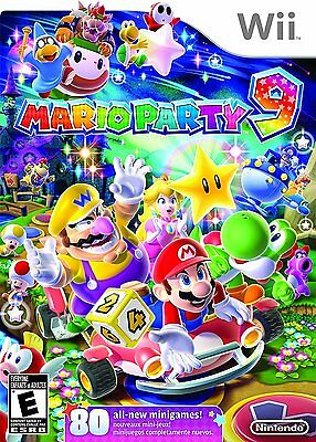 Wii Mario Party 9 Nintendo Wii NEW