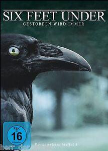 SIX FEET UNDER, Staffel 4 (5 DVDs) NEU+OVP - Oberösterreich, Österreich - SIX FEET UNDER, Staffel 4 (5 DVDs) NEU+OVP - Oberösterreich, Österreich