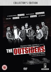 THE OUTSIDERS COLLECTOR`S EDITION DVD PLUS BOOKLET   BRAND NEW SEALED DVD