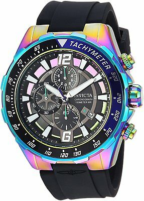 Invicta 24579 Men's Aviator Chronograph 49mm Black Dial Watch