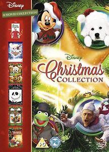 DISNEY Christmas Movie Collection 6DVD Boxset NEW 2013