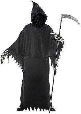 Grim Reaper Deluxe Adult Costume - Grim Reaper Deluxe Kostüm