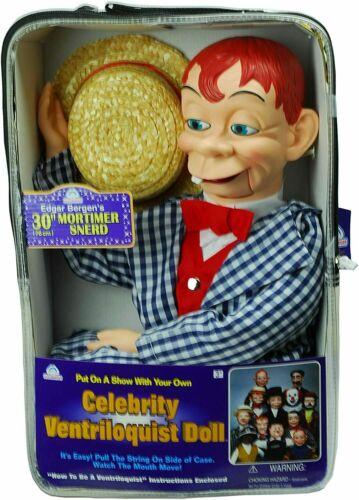 Bonus Bundle MORTIMER SNERD - Ventriloquist Dummy Doll - NEW