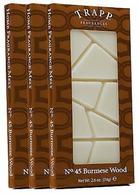 Trapp Home Fragrance Melt, No. 45 Burmese Wood, 2.6-Ounce,