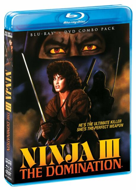 NINJA III : THE DOMINATION   -  Blu Ray - Region free for UK