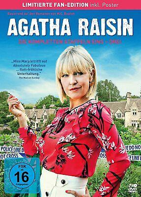 Agatha Raisin - Die kompletten Staffeln 1-3 (Limited Fan Edition) 7DVD NEU...