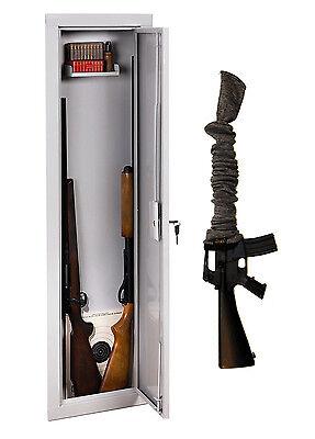 Stack-On IWC-55 Long Gun Wall Safe Rifle Shotgun Cabinet Plus Free ...