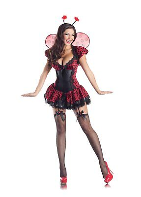 Party King Women's Ladybug Body Shaper Costume
