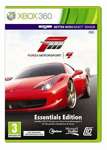 Forza 4 Motorsport Essentials Edition Brand New Sealed  - Microsoft Xbox 360