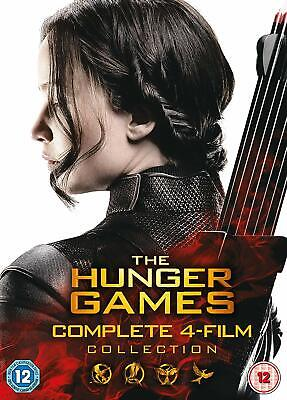The Hunger Games - Complete Collection New DVD Box Set - All 4 Films