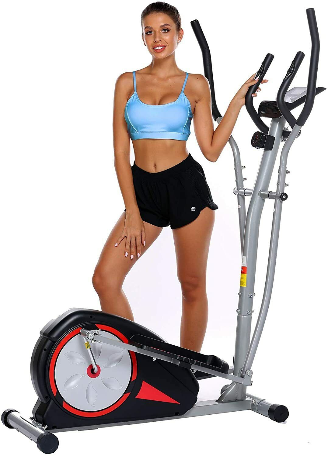 ANCHEER Magnetic Elliptical Exercise Fitness Training Machin