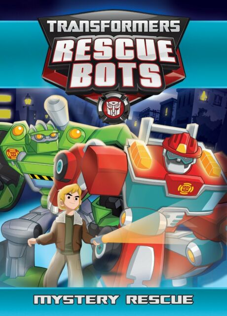 TRANSFORMERS RESCUE BOTS: MYSTERY RESCUE - DVD - Region 1 Sealed