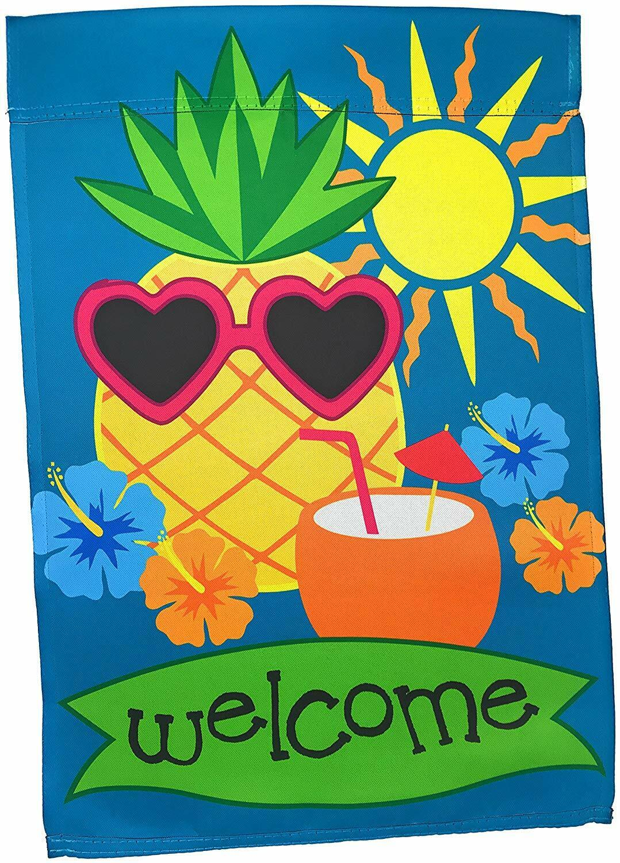 "Lantern Hill Premium Garden Flag Decoration; 12"" x 18""; Doub"