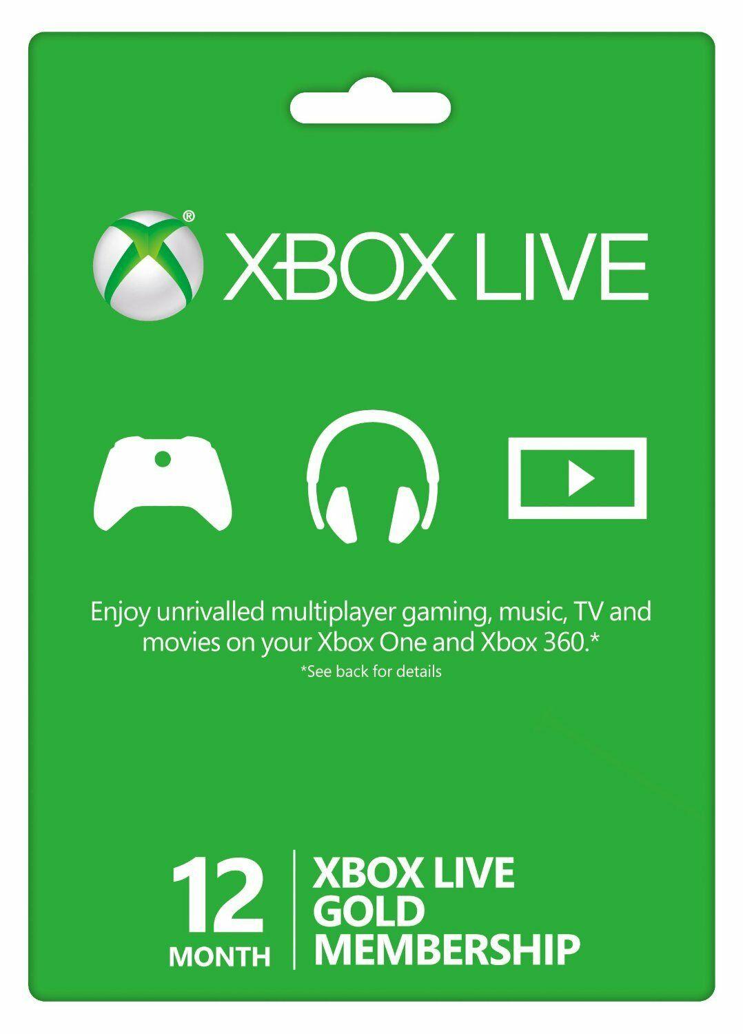 Купить Microsoft 12 Month Xbox Live Gold Membership Subscription Quick Delivery