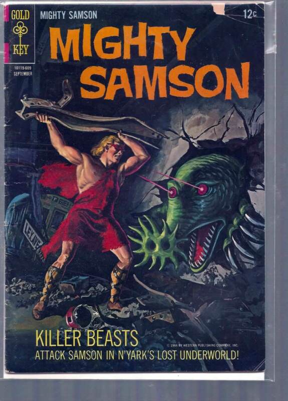 MIGHTY SAMSON # 7