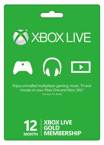 12 Month Xbox Live Gold Membership (VPN REQUIRED,SEE DESCRIPTION) Fast Delivery
