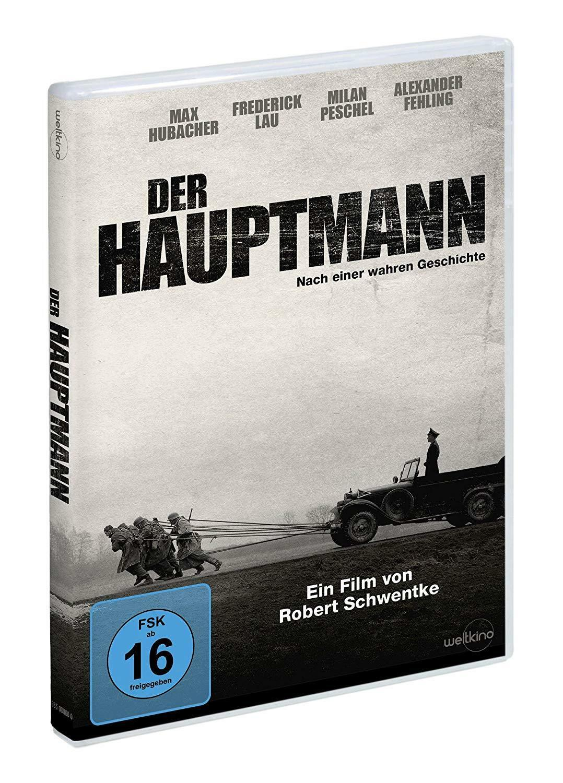 DER HAUPTMANN NACH EINER WAHREN GESCHICHTE DVD DEUTSCH