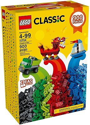 Lego 10704 Classic Creative Box (900 Piece) Construction Toy Gift Set - NEW
