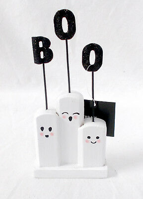 Halloween Ghost Recipes (Kohl's Ghost Trio Photo Recipe Holder Halloween Decoration 7