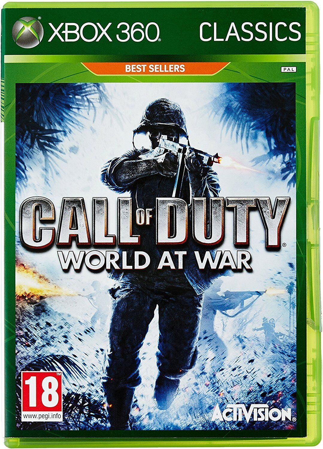 Xbox 360 Games - Call of Duty World at War Xbox 360 Xbox One Compatible Brand New Factory Sealed