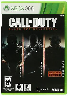 Call of Duty: Black Ops Collection Xbox 360 Xbox One Brand new Free Shipping!