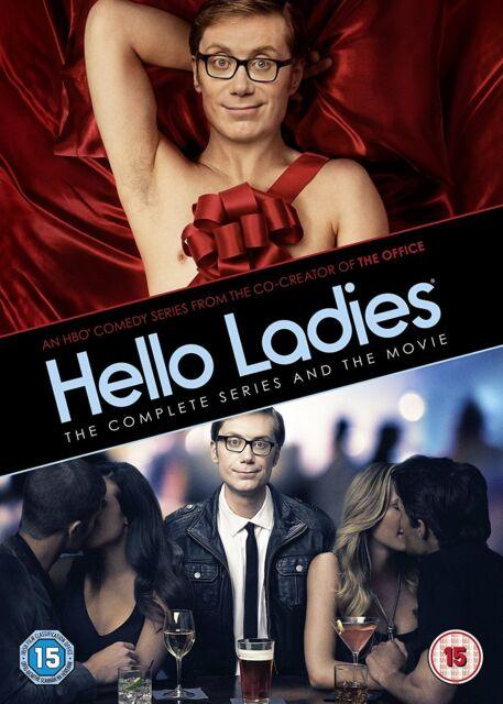 HELLO LADIES : THE COMPLETE SEASON 1  & MOVIE - DVD - REGION 2 UK