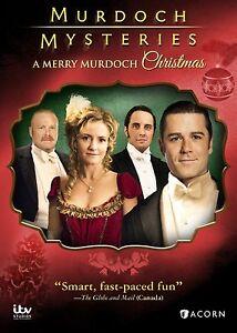 MURDOCH MYSTERIES : A MERRY MURDOCH CHRISTMAS  - DVD - Region 1 Sealed