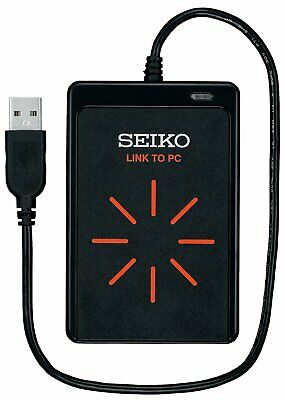 SEIKO SVAJ701 300 Memory Stopwatch with SVAZ015 PC Interface Transmitter