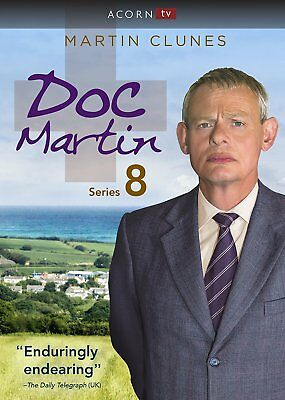 Doc Martin: Season 8 Series 8 (DVD, 2017, 3-Disc Set) NEW, Free Shipping.