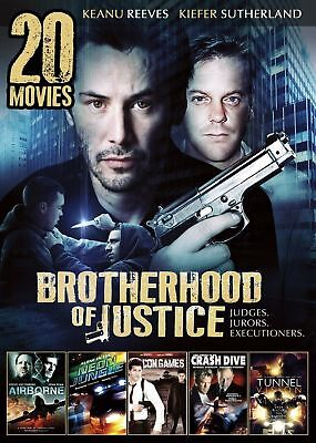 20movie DVD ELIMINATOR,CONTRACT,AIRBOSS,Men w/GUNS,LOADED,Tunnel Vision,Con GAME