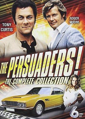The Persuaders Tony Curtis   Roger Moore Complete Classic Series Box Dvd Set New