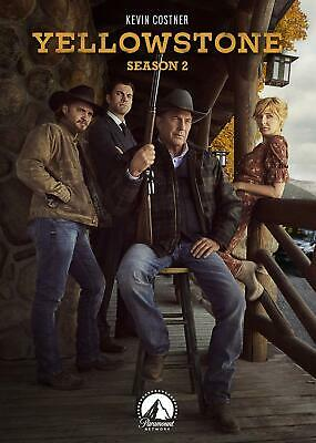 Yellowstone: Season 2 Two (DVD 2019, 4-Disc-Set) NEW, Fast, First Class Shipping