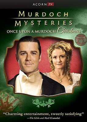 Murdoch Mysteries: Once Upon a Murdoch Christmas New DVD! Ships Fast!