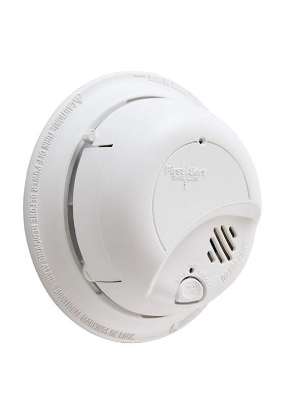 First Alert BRK Brands 9120B Hardwired Smoke Alarm with Batt